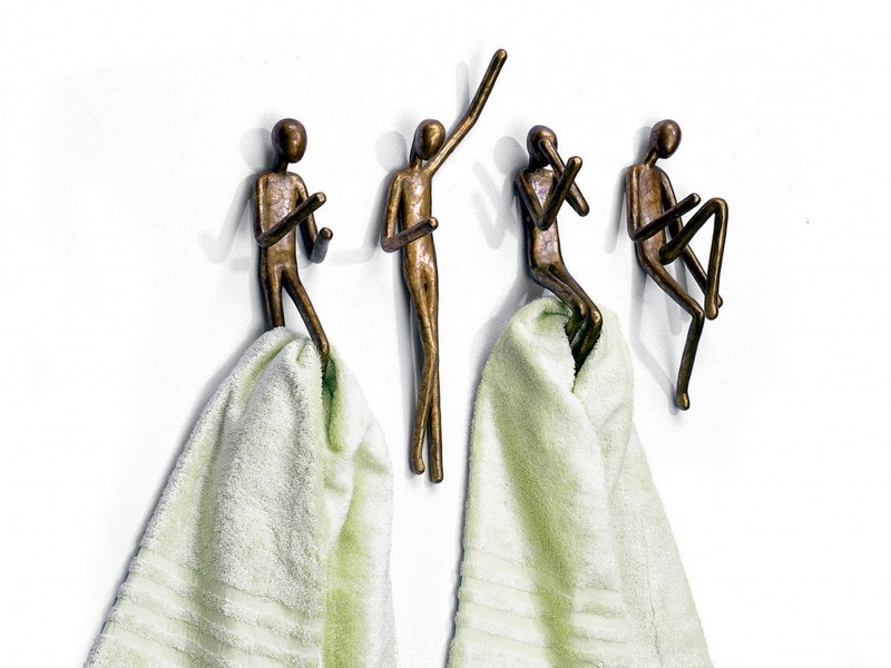 Unique Towel Hooks For Bathrooms