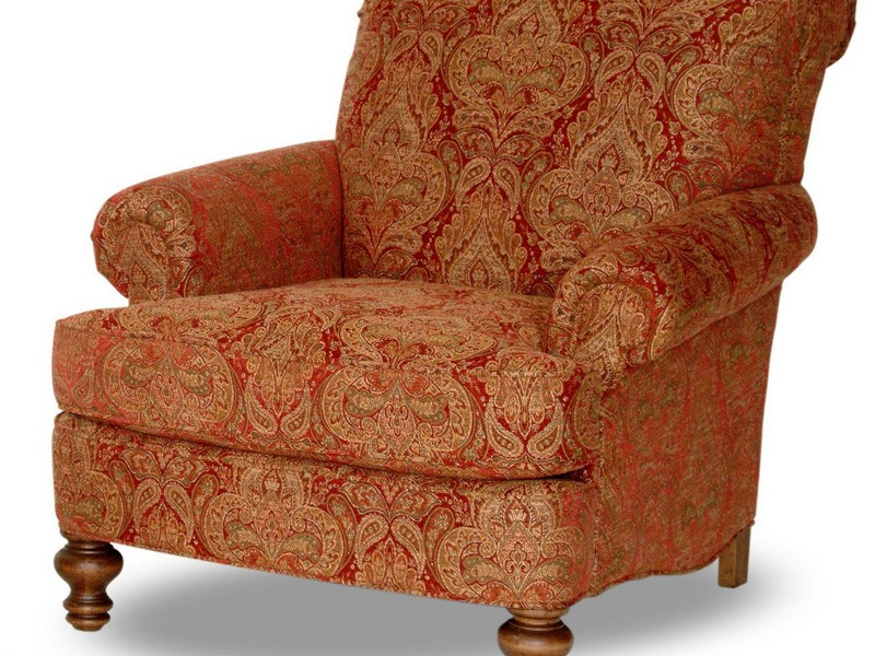 Upholstered Accent Chairs With Arms