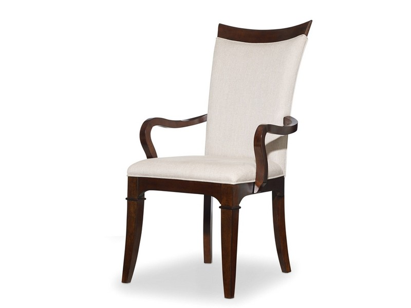Upholstered Armed Dining Chairs