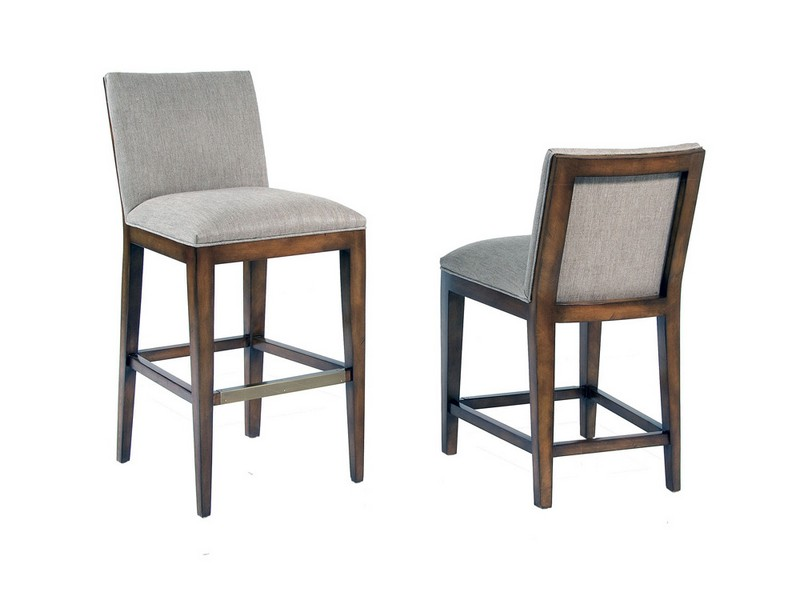 Upholstered Counter Stools With Backs