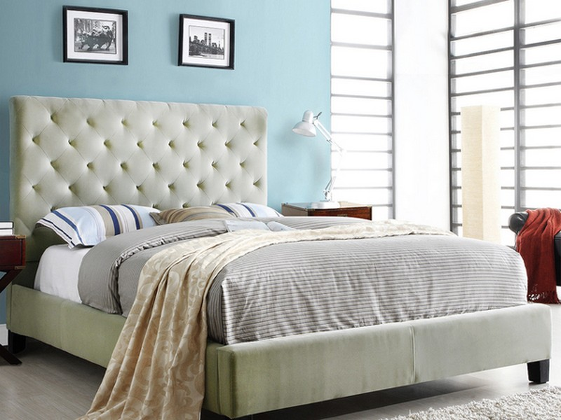 Upholstered Full Size Bed