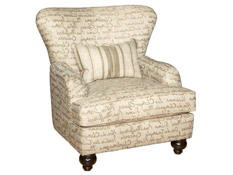 Upholstered Living Room Chairs With Arms