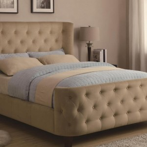 Upholstered Platform Bed Full
