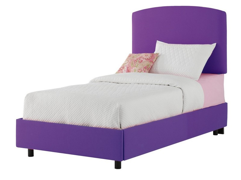 Upholstered Twin Bed With Storage
