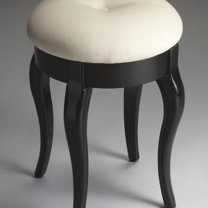 Upholstered Vanity Stool