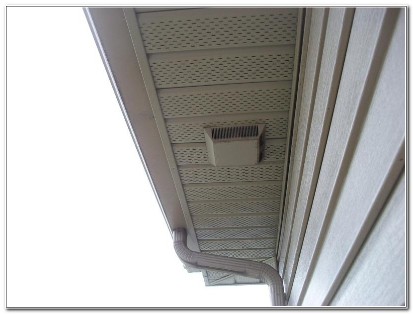 Venting A Bathroom Fan Through The Soffit