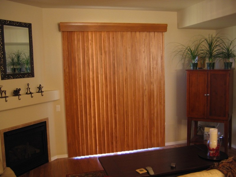 Vertical Wood Blinds