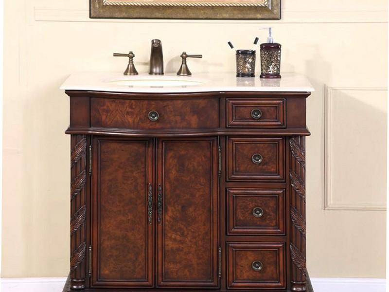 Victorian Bathroom Vanity Cabinet