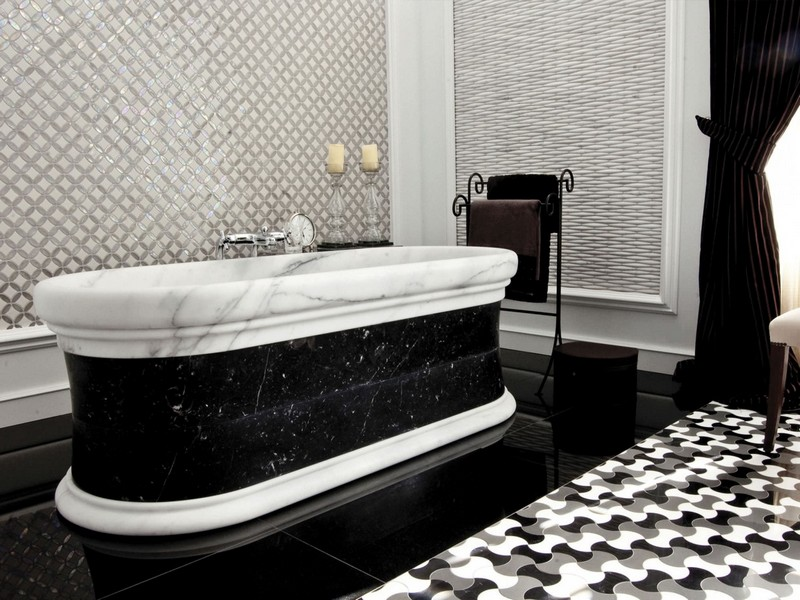 Victorian Bathrooms Black And White