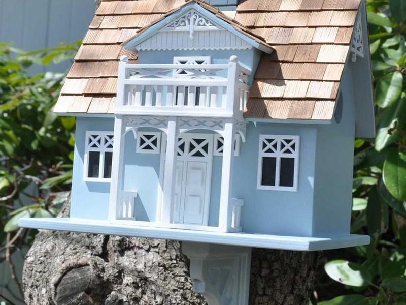 Victorian Bird Houses