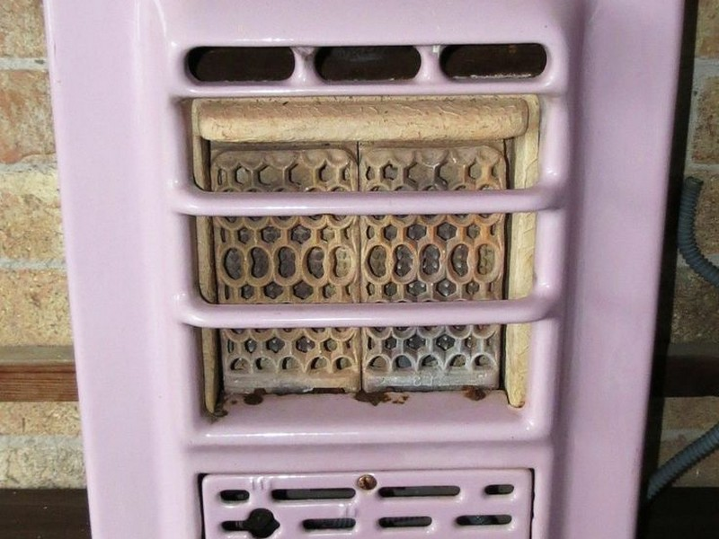 Vintage Bathroom Wall Heater