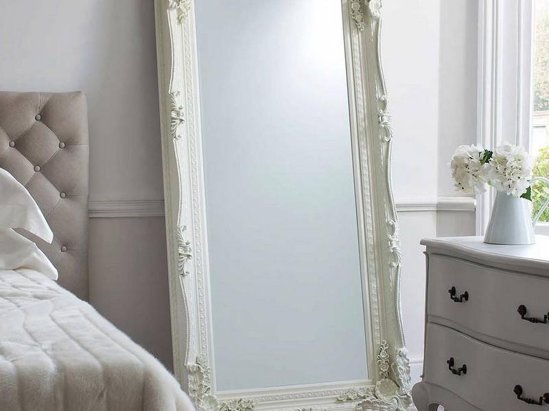 Vintage Floor Standing Mirror
