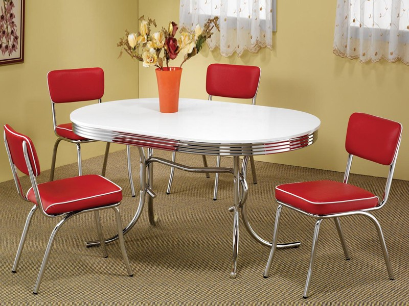 Vintage Kitchen Table And Chairs Set