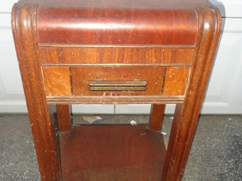 Vintage Nightstands Art Deco