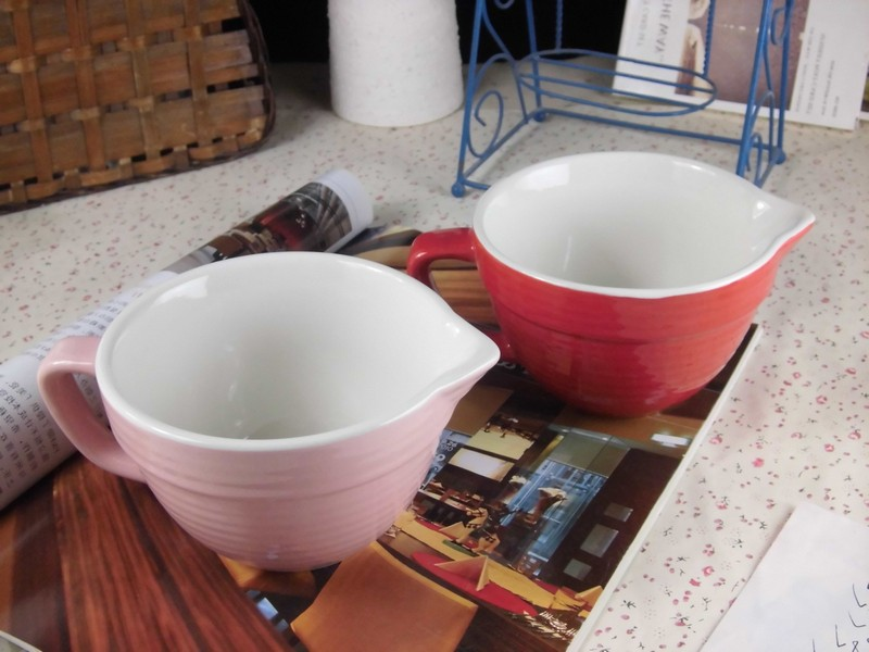 Vintage Soup Bowls With Handles