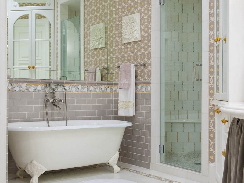 Vintage Subway Tile Bathrooms