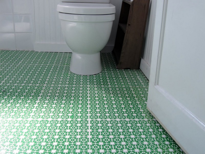 Vinyl Flooring Ideas For Small Bathroom