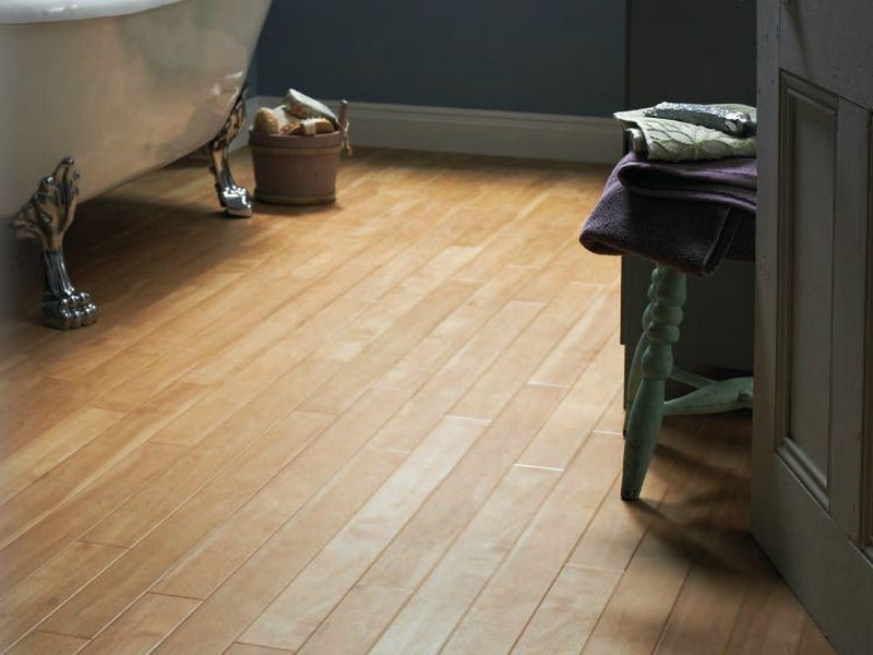 Vinyl Plank Flooring For Bathroom