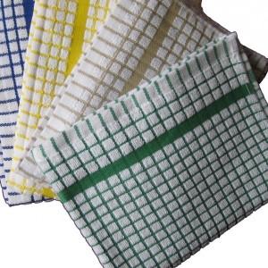 Waffle Weave Kitchen Towels White