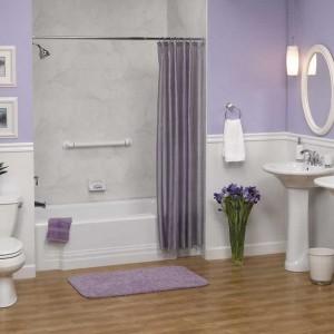 Wainscot Bathroom