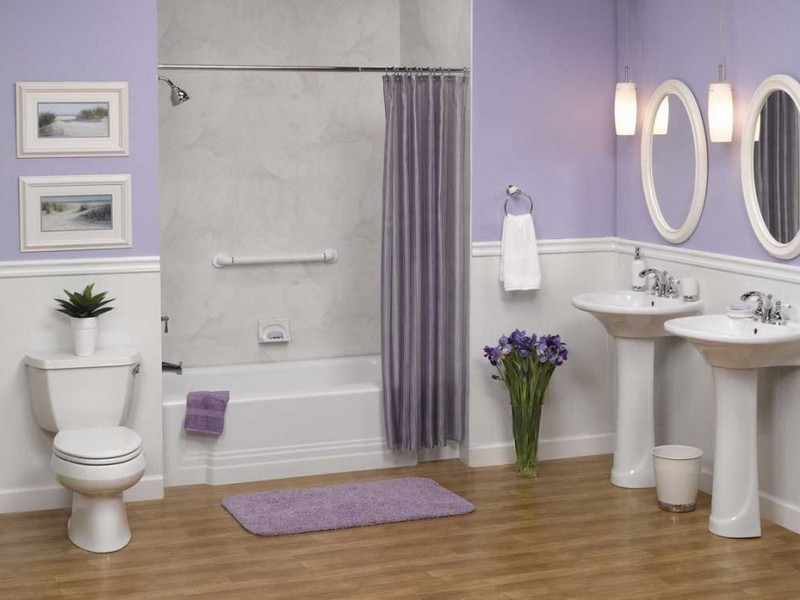 Wainscot Bathroom