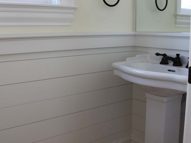 Wainscot Paneling Bathroom
