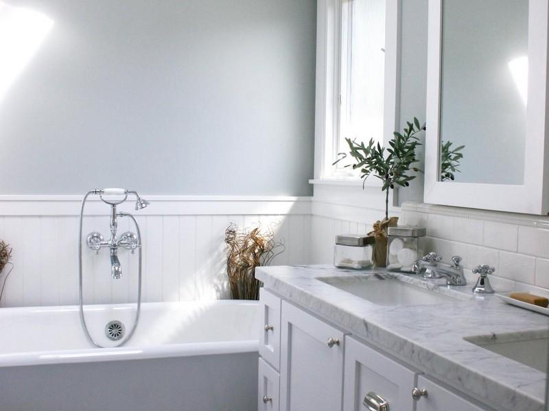 Wainscoting Bathroom Diy