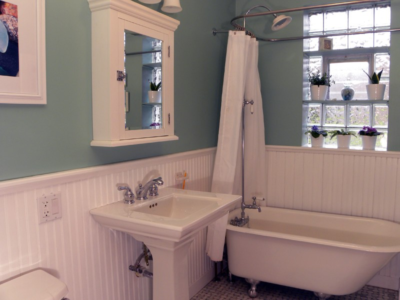 Wainscoting In Bathroom Height