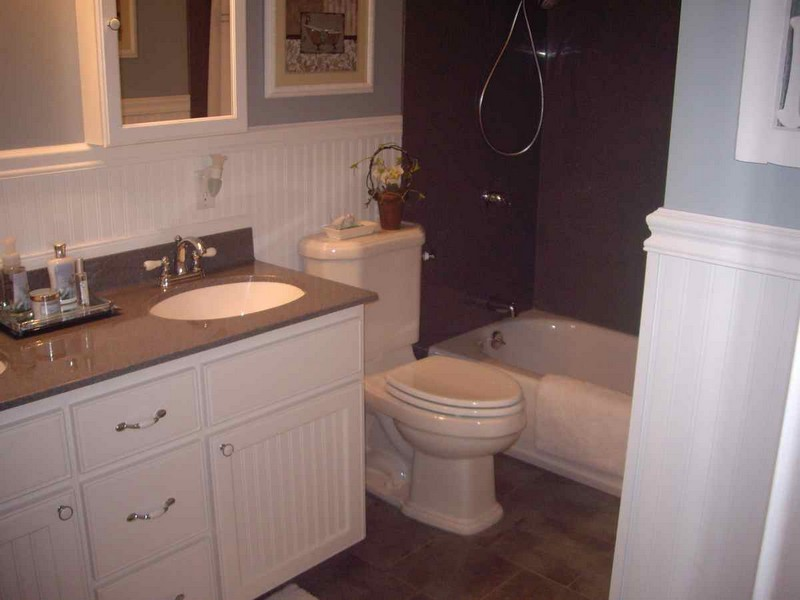 Wainscoting In Bathrooms Ideas