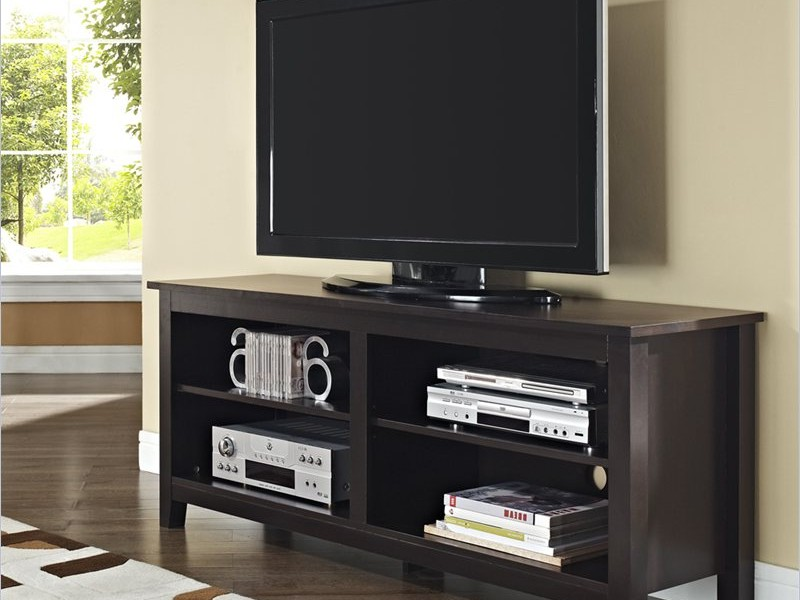 Walker Edison Tv Stand Black