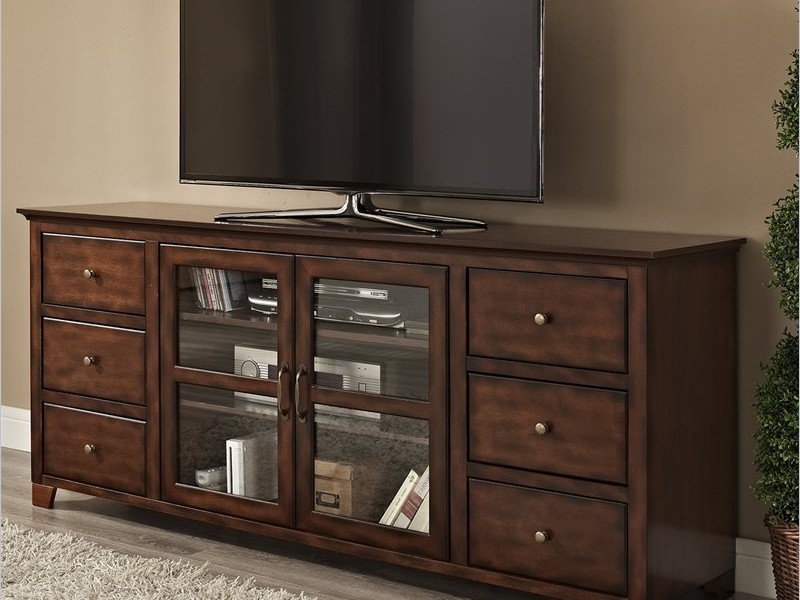 Walker Edison Tv Stand Charcoal