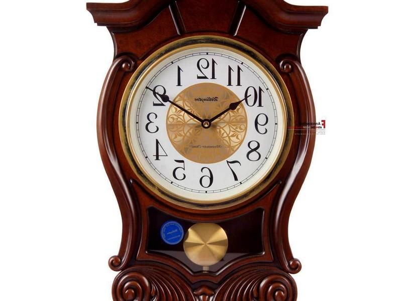 Wall Clock With Pendulum