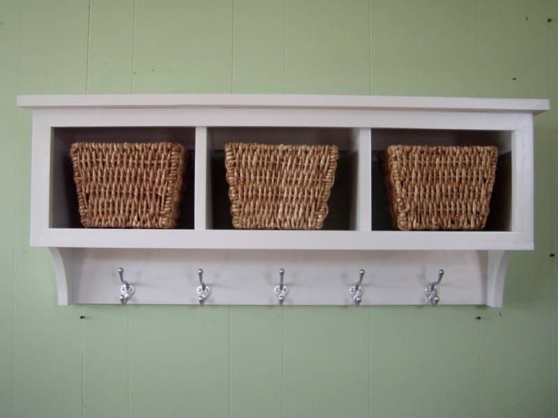 Wall Cubby Shelf