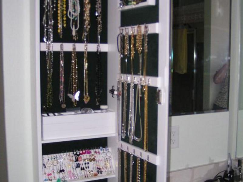 Wall Hanging Jewelry Box