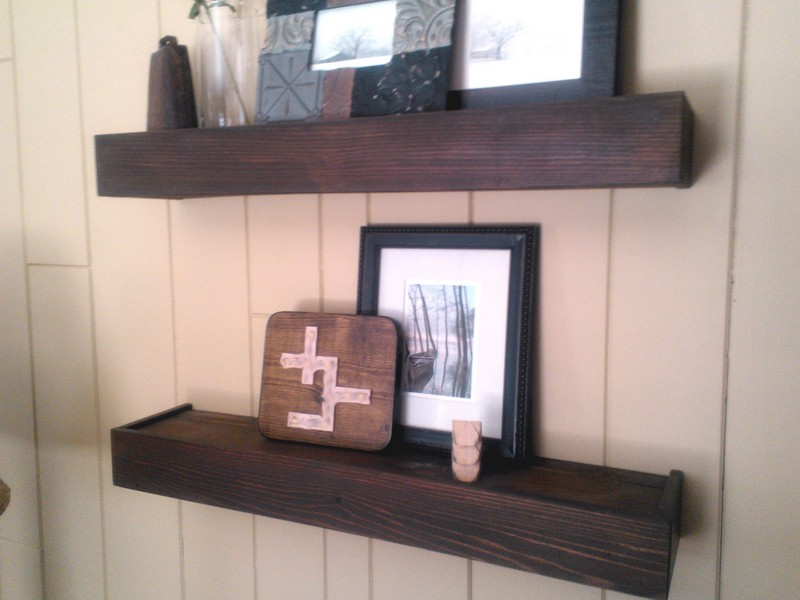 Wall Ledge Shelves