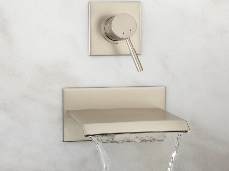 Wall Mount Bathroom Faucet Height