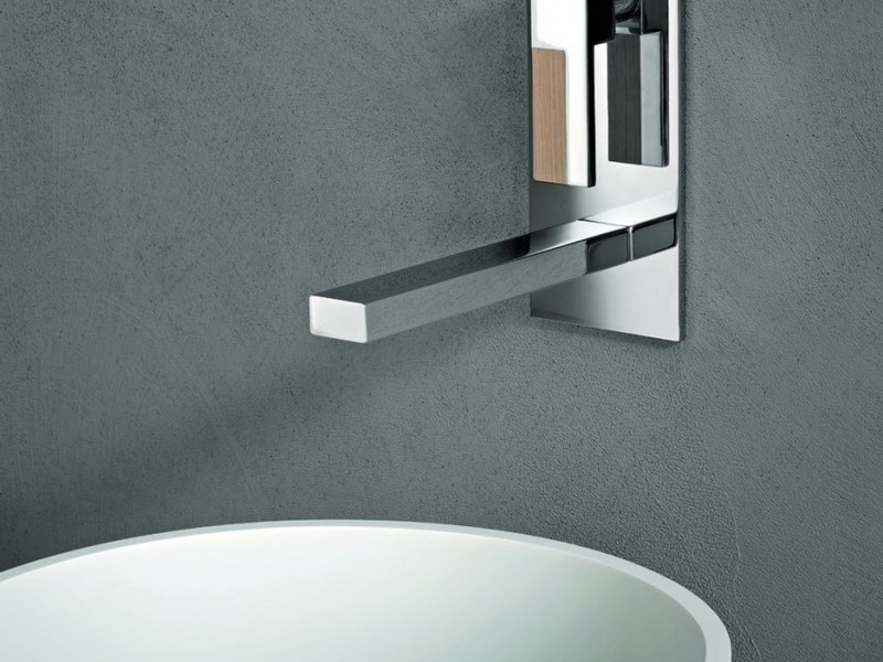 Wall Mount Bathroom Faucet Single Handle