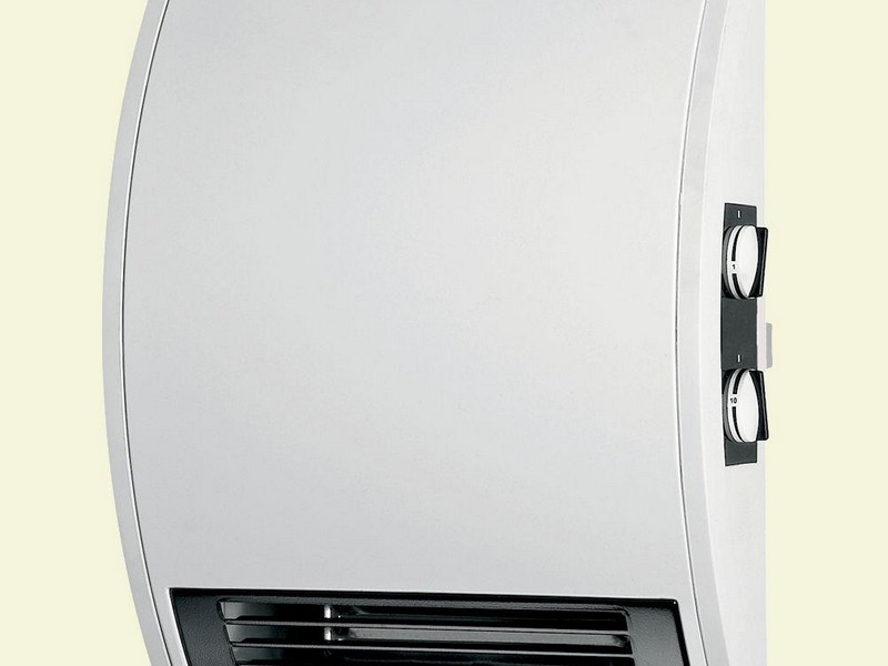 Wall Mounted Bathroom Fan Heater With Timer