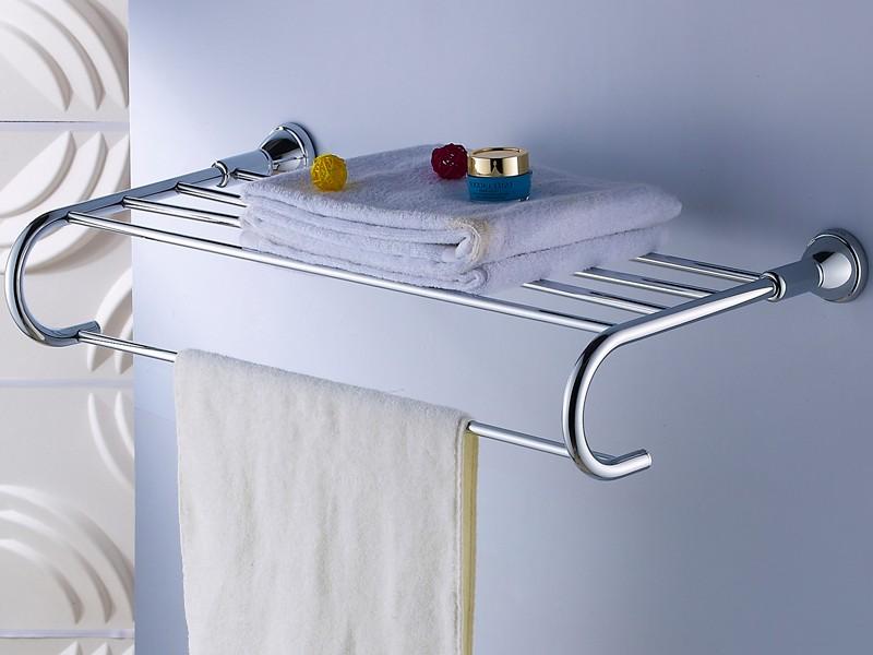 Wall Mounted Bathroom Shelves Bath Racks