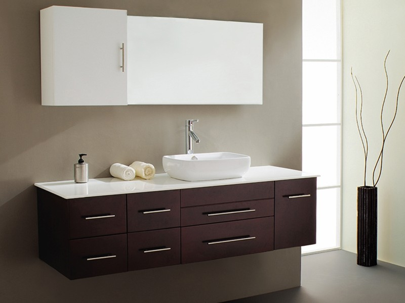 Wall Mounted Bathroom Sink Cabinets