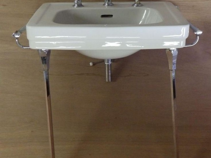 Wall Mounted Bathroom Sink With Legs
