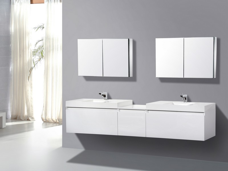 Wall Mounted Bathroom Sinks With Drawers