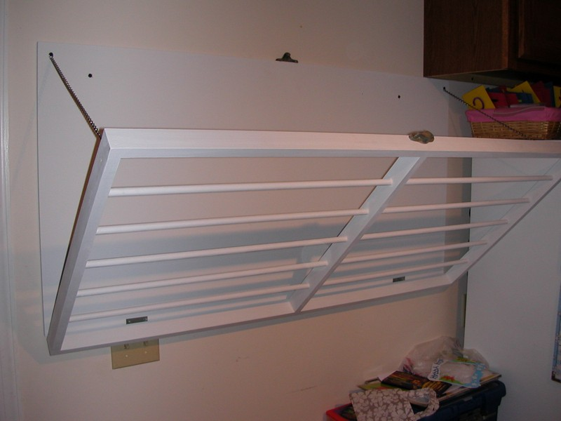 Wall Mounted Drying Rack For Clothes