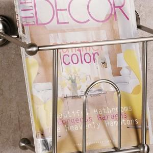 Wall Mounted Magazine Rack For Bathroom