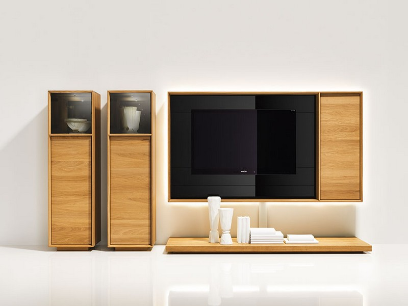 Wall Mounted Media Storage Units