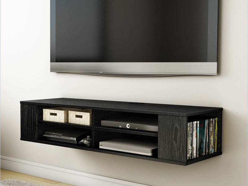 Wall Mounted Media Storage