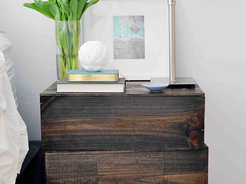 Wall Mounted Nightstand Shelf