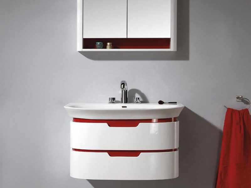 Wall Mounted Vanities For Small Bathrooms