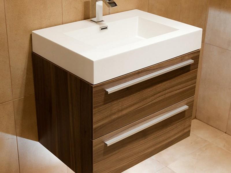 Walnut Bathroom Vanity Units
