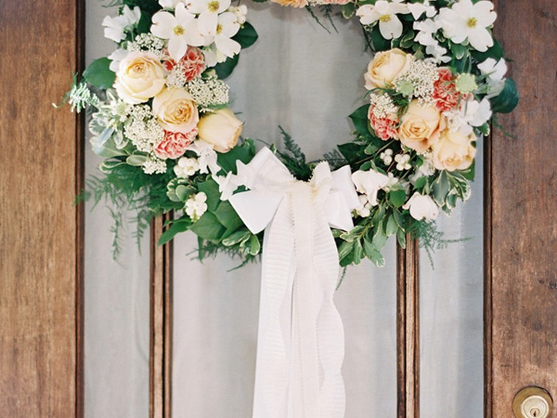 Wedding Wreaths For Doors